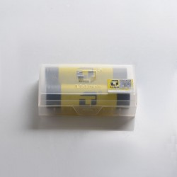 [Ships from Battery Warehouse] Authentic Listman IMR 18650 3500mAh 30A Flat Top Li-ion Rechargeable Battery - (2 PCS)
