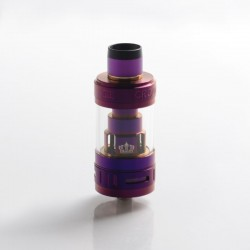 Authentic Uwell Crown 3 III Sub Ohm Tank Clearomizer Vape Atomizer - Violet, 5.0ml, 0.25Ohm, 24.5mm Diameter
