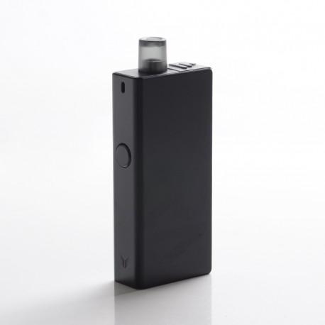 Authentic Uwell Valyrian 25W 1250mAh Pod System Vape Starter Kit - Black, 3.0ml, 1.0ohm MTL / 0.6ohm DL