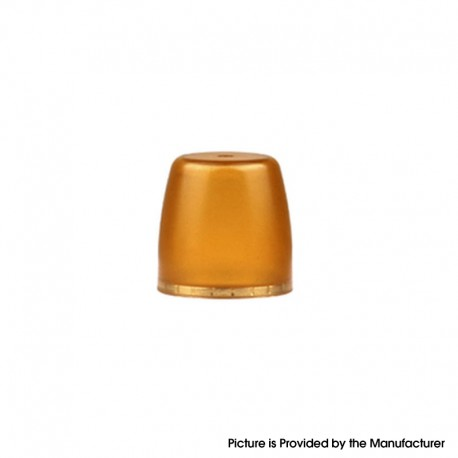 Authentic Hotcig Kubi Stick Kit / Pod Cartridge Replacement Magnetic Cap - Yellow