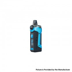 [Ships from HongKong] Authentic GeekVape Aegis Boost Plus 40W TC VW Mod Pod System - Almighty Blue, 5~40W, 200~600'F, 1 x 18650