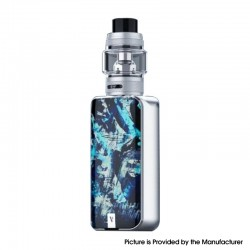 [Ships from HongKong] Authentic Vaporesso LUXE II 220W VW Box Mod Kit with NRG-S Tank - Iceberg, 2 x 18650, 5~220W, 8.0ml