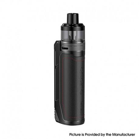 Authentic Aspire BP80 Pod System Vape Mod Kit - Charcoal Black, 1~80W, 2500mAh 4.6ml, 0.17 / 0.6ohm