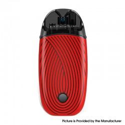 Authentic ZQ Vi 2 Pod System Vape Starter Kit - Christmas Red, 1000mAh, 3.0ml, 0.6ohm / 1.2ohm