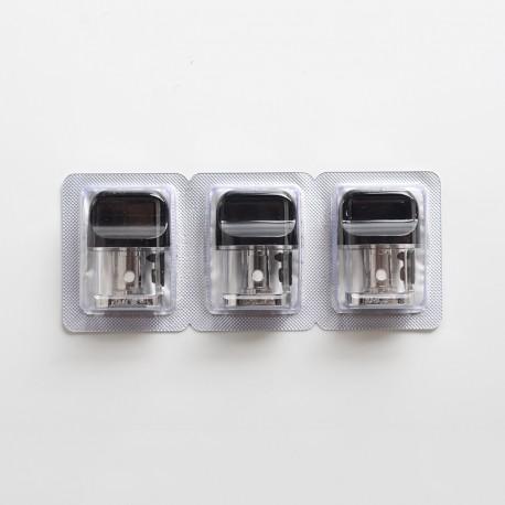 Authentic SMOKTech SMOK Novo X Pod System Vape Kit Replacement Pod Cartridge w/ DC 0.8ohm MTL Coil - 2.0ml (3 PCS)
