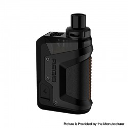 Authentic GeekVape Aegis Hero 45W VW Pod System Vape Starter Kit - Black, 1200mAh, 5~45W, 4.0ml, 0.4ohm / 0.6ohm