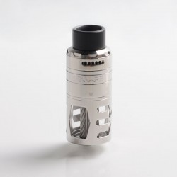 Authentic Exvape eXpromizer TCX DL RDTA Rebuildable Dripping Tank Vape Atomizer - Polished, SS + Glass + POM, 7.0ml, 25mm Dia.