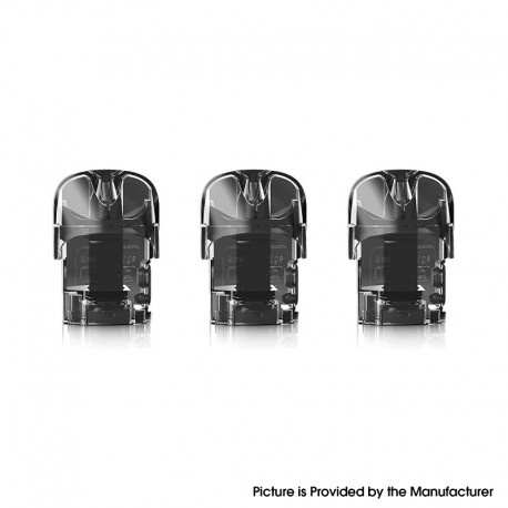 Authentic Suorin ACE Pod System Replacement Pod Cartridge with 1.0ohm Coil - 2.0ml (3 PCS)