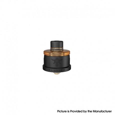 Authentic Vandy Vape Requiem RDA Rebuildable Dripping Vape Atomizer - Matte Black, DL / RDL / MTL, 22mm Diameter