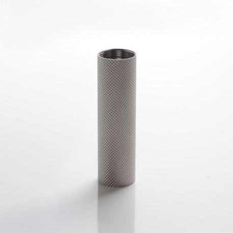 Authentic ULTRONER Alieno SEVO 70 / DNA 60 Box Mod Replacement knurled 18650 Battery Tube - Silver, Stainless Steel