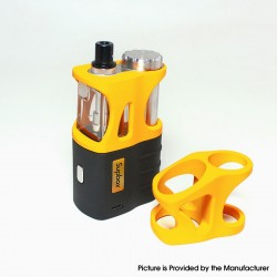 Authentic SXK Supbox 70W TC VW Vape Box Mod Kit - Black + Yellow, Variable Wattage 1~70W, 1 x 18650 / 18350, SEVO-70 Chipset