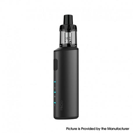 Authentic IJOY PikGo Pod Mod Vape Starter Kit - Black, 1300mAh, 2.0ml, 0.6ohm / 1.0ohm