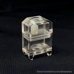 Authentic SXK Unit Tank for SXK Supbox / Supbox Pro Box Mod Kit / SXK BB - Translucent, Acrylic, 5.0ml
