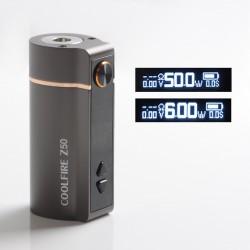 Authentic Innokin Coolfire Z50 50W 2100mAh Variable Wattage Vape Box Mod - Gun Metal, Zinc Alloy, 6~50W