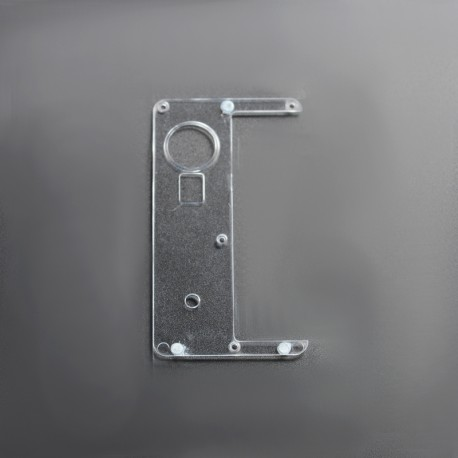 Replacement Inner Door for dotMod dotAIO Pod - Clear, Acrylic (1 PC)