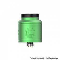 Authentic Augvape DRUGA 2 BF RDA Rebuildable Dripping Vape Atomizer - Green, Aluminum + SS, 24mm Diameter