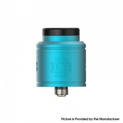 Authentic Augvape DRUGA 2 BF RDA Rebuildable Dripping Vape Atomizer - Blue, Aluminum + SS, 24mm Diameter