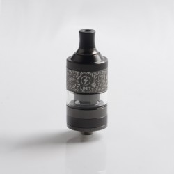 Authentic Kizoku Limit MTL RTA Renaissance Edition - Gun Metal, Single Coil / 1.8ohm, 3.0ml, 22mm Diameter