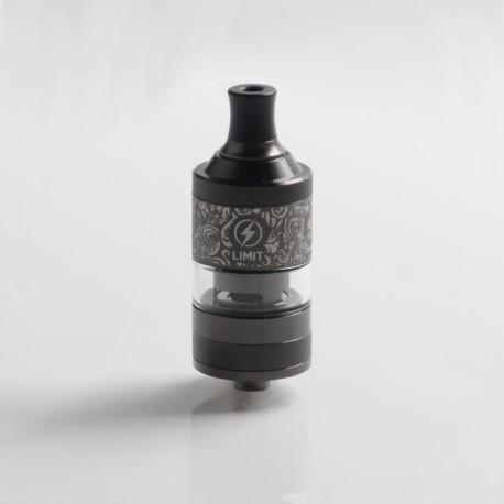 Authentic Kizoku Limit MTL RTA Renaissance Edition - Gun Metal, Single Coil / 1.8ohm, 3.0ml, 22mm Diameter