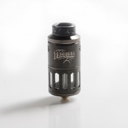 Authentic Wotofo Profile RDTA / RDA Rebuildable Dripping Tank Vape Atomizer w/ BF Pin - Gun Metal, 6.2ml, 25mm Diameter