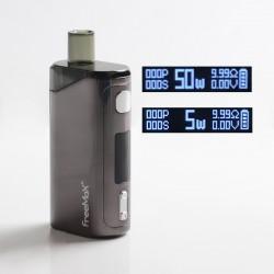 Authentic FreeMax Autopod50 50W 2000mAh VW Box Mod Pod System Vape Starter Kit - Gun Metal, 0.25ohm / 0.5ohm, 4ml, 5~50W