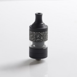Authentic Kizoku Limit MTL RTA Renaissance Edition - Black, Single Coil / 1.8ohm, 3.0ml, 22mm Diameter