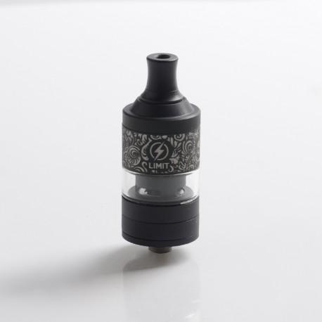 Authentic Kizoku Limit MTL RTA Renaissance Edition - Black, Single Coil / 1.8ohm, 3.0ml, 22mm Diameter