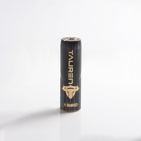 Authentic ThunderHead Creations THC Tauren Hybrid Semi-Mechanical Vape Mech Mod w/ X Chip - Grey, Brass, 1 x 18650/20700/21700