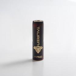 Authentic ThunderHead Creations THC Tauren Hybrid Semi-Mechanical Vape Mech Mod w/ X Chip - Lava, Brass, 1 x 18650/20700/21700