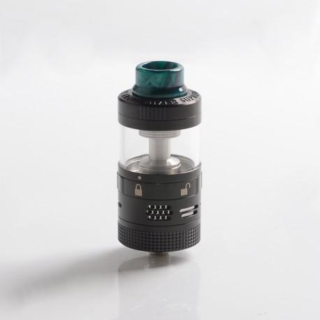 Authentic Steam Crave Aromamizer Supreme V3 RDTA Rebuildable Dripping Tank Vape Atomizer Basic Kit - Black, 6.0 / 7.0ml, 25mm