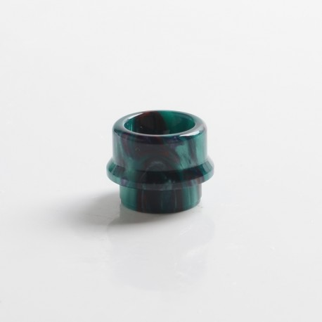Authentic Steam Crave Aromamizer Supreme V3 RDTA Replacement Small Bore 810 Drip Tip - Green, Resin