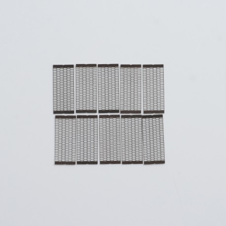 Authentic Steam Crave Aromamizer Supreme V3 RDTA Replacement Mesh Strips - SS316L, 0.15ohm, 16 x 6.8mm (10 PCS)