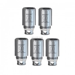 Authentic SMOKTech TF-N2 Ni200 Standard Core Coil Heads for TFV4 / TFV4 Mini Tank - Silver, 0.12 Ohm (420'F~600'F)