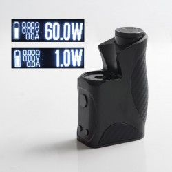 Authentic Dovpo College DNA60 60W TC VW Variable Wattage Vape Box Mod - Black, 1~60W, 1 x 18650, EVOLV DNA60 chipset