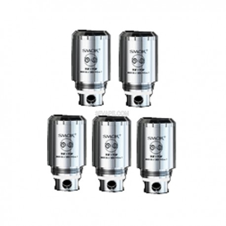Authentic SMOKTech TF-T2 Air Core Coil Heads for TFV4 / TFV4 Mini Tank - Silver, 1.5 Ohm (20~45W)