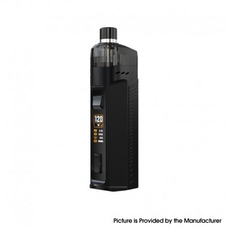 Authentic Artery Cold Steel AIO 120W Pod System Vape Mod Kit RBA Version - Black, 1 x 18650 / 20700 / 21700, 2.0ml