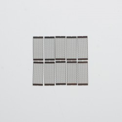 Authentic Coil Father A12 Mesh Sheet Coil for RDA / RTA / RDTA Vape Atomizer - A1, 0.18ohm (45~65W) (10 PCS)
