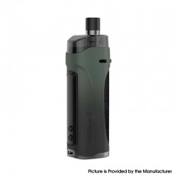 Authentic Innokin Kroma Z Pod System Vape Mod Kit - Midnight Green, 6~40W, 3000mAh 4.5ml, 0.8ohm / 0.3ohm