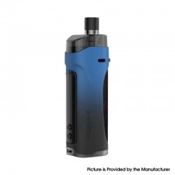 Authentic Innokin Kroma Z Pod System Vape Mod Kit - Midnight Blue, 6~40W, 3000mAh 4.5ml, 0.8ohm / 0.3ohm