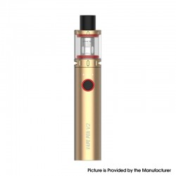 Authentic SMOKTech SMOK Vape Pen V2 Kit 1600mAh Battery Mod + Sub Ohm Tank - Gold, Max 60W, 3.0ml, 0.15ohm