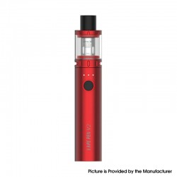 Authentic SMOKTech SMOK Vape Pen V2 Kit 1600mAh Battery Mod + Sub Ohm Tank - Red, Max 60W, 3.0ml, 0.15ohm