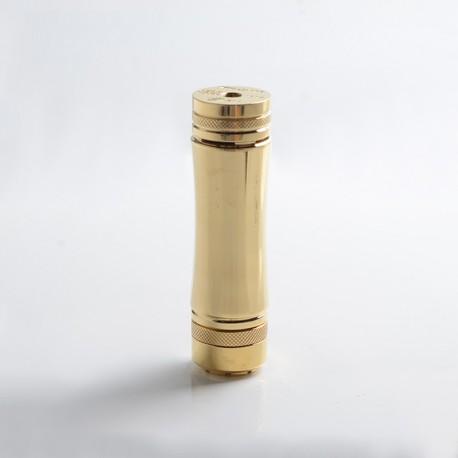 Authentic Timesvape Heavy Hitter Vape Mechanical Mod - Brass, Brass, 1 x 20700 / 21700
