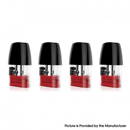 Authentic Vaporbucks Simmi Replacement Pod Cartridge w/ 1.0ohm RDL Coil - 1.8ml, (4 PCS)