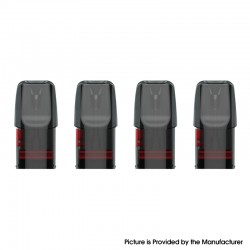 Authentic Vaporbucks FreeSE Replacement Pod Cartridge w/ 1.5ohm Coil - 1.6ml (4 PCS)