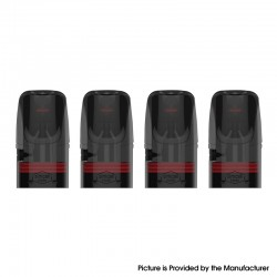 Authentic Vaporbucks Frees Replacement Pod Cartridge w/ 1.4ohm Coil - 1.6ml (4 PCS)