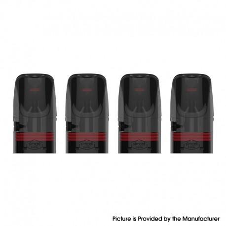 Authentic Vaporbucks Frees Replacement Pod Cartridge w/ 1.4ohm Coil - 1.6ml (4 PCS)