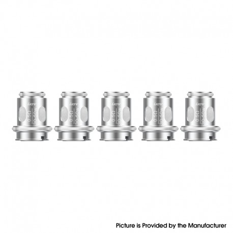 Authentic IJOY Flash Tank Replacement Mesh Coil Head - 0.5ohm (30~50W) (5 PCS)