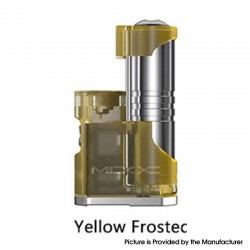 Authentic Aspire MIXX 60W VV VW Variable Wattage Vape Box Mod - Yellow Frosted, 1~60W, 1 x 18350 / 18650