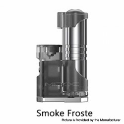 Authentic Aspire MIXX 60W VV VW Variable Wattage Vape Box Mod - Smoke Frosted, 1~60W, 1 x 18350 / 18650