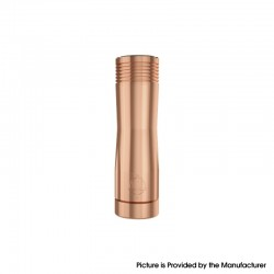 Authentic Hellvape Trishul V2 Mechanical Vape Mech Mod - Copper, 1 x 18650 / 20700 / 21700